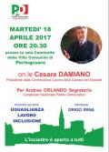 [Incontro con l'on.le Cesare Damiano]