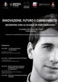 [Innovazione, futuro e cambiamento]