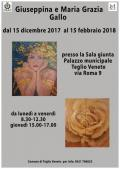 [Le opere di Giuseppina e Maria Grazia Gallo in mostra]