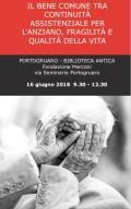 [Il bene comune tra comunità assistenziale per l'anziano, fragilità e qualità della vita]