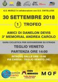 [Trofeo Amici di Danelon Devis, 3° memorial Andrea Carolo]