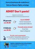[ADHD? Don't panic!]