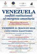 [Venezuela Conflitti Costituzionali ed Emergenza Umanitaria]
