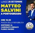 [Matteo Salvini a Portogruaro]