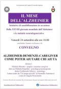 [Alzheimer - Demenze - Caregiver]