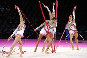 [220 atlete alla Gara Interregionale di ginnastica artistica femminile]