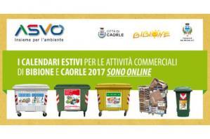 [Bibione e Caorle: online i calendari raccolta rifiuti estiva per operatori economici]