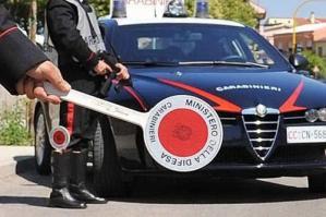 [Cerca di defilarsi alla vista dei carabinieri, arrestato un 35enne ]