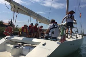 [Un nuovo modo per vivere il mare per i disabili: in barca a vela ]