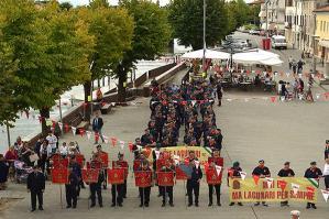 [Grande partecipazione al I° Raduno Provinciale in riva al Lemene sezione A.L.T.A.]