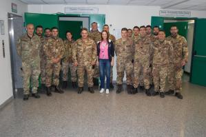 [Avis Portogruaro, donazione di sangue dagli artiglieri del 5° reggimento