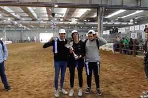 [Tre ragazzi dell'ISIS Da Vinci di Portogruaro primi classificati alla Gara di presentazione delle Razze Equine Italiane a Verona]