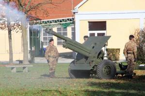 """[Cambio del Comando del 5° reggimento artiglieria terrestre lanciarazzi """"Superga"""" ]"""