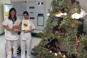 [Natale in ospedale a Portogruaro, 25 Presepi realizzati da medici, infermieri e oss]