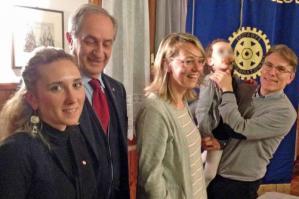 """[Sindrome di Rett, il sostegno di Rotary e Rotaract alle """"bambine dagli occhi belli""""]"""