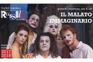 """[Torna la prosa al Teatro Russolo con """"Il malato immaginario - l'ultimo viaggio""""]"""