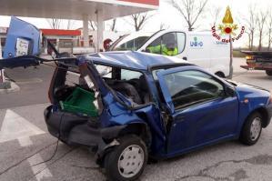 [Incidente sulla SS14 a Fossalta di Portogruaro: grave automobilista]