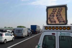 [Tamponamento tra tir in A4: autostrada chiusa tra Portogruaro a Cessalto]