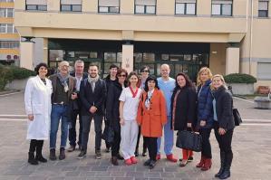 [Da Maribor a Portogruaro per studiare prevenzione, cure e sistemi antidecubito]