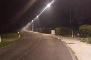 [Nuova illuminazione a led in via Santa Fosca]