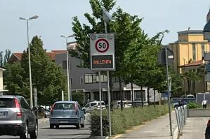 [Nuovi dissuasori stradali a Portogruaro]