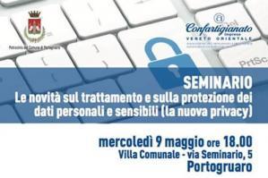 [Le novità sul trattamento e sulla protezione dei dati personali e sensibili (la nuova privacy)]