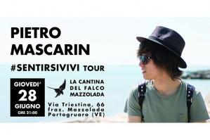 [Pietro Mascarin in tour all'Agricola Mazzolada]