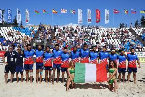 [Beach Rugby Italiano: le selezioni azzurre in ritiro a Caorle]