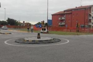 [Al via il cantiere per l'ampliamento della rotatoria di Lugugnana]