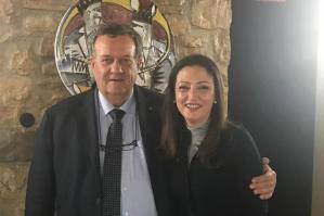 [Fabiano Barbisan e Maddalena Spagnolo (Lega): un patto per affrontare i problemi relativi al Tagliamento]