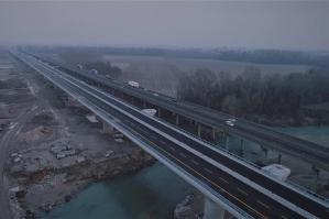 [A4, domenica l'apertura completa del nuovo Ponte Tagliamento]