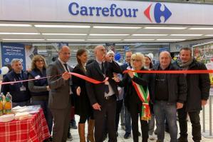 [Carrefour inaugura il rinnovato Ipermercato a Portogruaro]