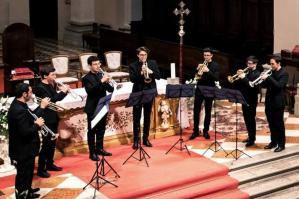 [L'Ensembletrombe FVG in concerto a San Stino ]