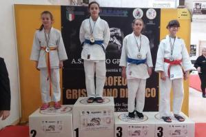 [4° Trofeo Interregionale di Grisignano: ancora medaglie per il Judo Kiai Atena]