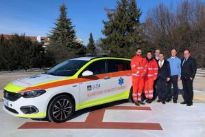 [Ulss 4, una nuova auto medica per il trasporto di organi e plasma]