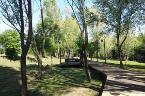 """[""""GiraLemene"""", riaperto il percorso in legno a Boldara]"""