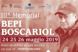 [Nel weekend il 3° Memorial Bepi Boscariol]