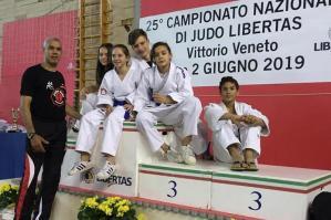 [Judo Kiai Atena, 12 titoli nazionali ai Campionati Nazionali Libertas di Vittorio Veneto]