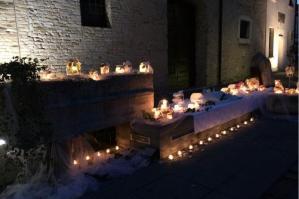 [L'aperitivo romano Concordia a lume di candela dà il via agli Archeoaperitivi ]