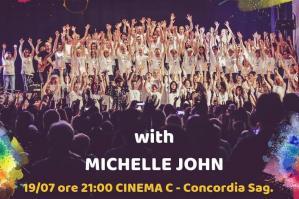 [A Colorful Day domani a Concordia con l�inimitabile Michelle John]
