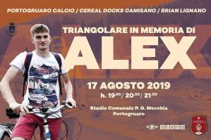 [Sabato 17 triangolare calcistico in memoria di Alex Gerolin]