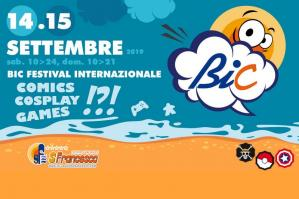 "[""BiC 2019"", il Festival Internazionale di Comics, Cosplay and Games nel weekend a Caorle]"