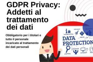 [GDPR Privacy: corso di formazione per gli addetti al trattamento dei dati]