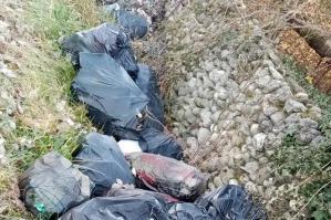 [40 sacchi d'immondizia abbandonati a San Michele, scoperti i trasgressori]