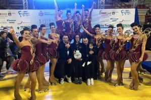 [Pattinaggio Artistico Division Portogruaro: Gruppo Junior Campione Regionale 2020]