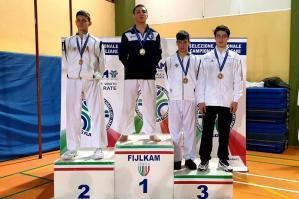 [Club Evolution Portogruaro: un oro ed un argento al Campionato Regionale Veneto di Karate]