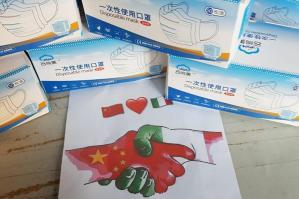 [Portogruaro, al Comune una donazione di mascherine dalla cittadina Ling Ling]