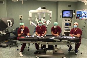 [Ospedale di Portogruaro sempre più all'avanguardia con il nuovo robot Da Vinci]