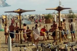 """[Spiaggia di Bibione """"smoke free"""" anche nel 2020]"""
