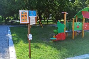 [Riaperti i giochi per bambini al Parco della Pace]